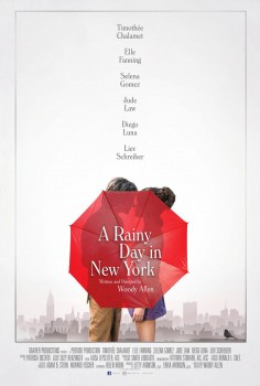 Deštivý den v New Yorku