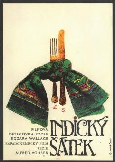 Indický šátek