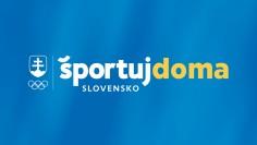 Športuj doma, Slovensko